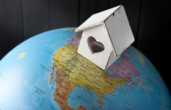 House Home World Dreamers Migration Immigration royalty free stock images