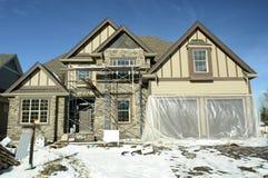 House Home Under Construction Stock Photos