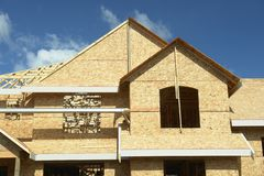 House Home Under Construction Royalty Free Stock Photos