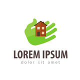 House, hotel vector logo design template Stock Photos