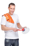 House husband Royalty Free Stock Photo