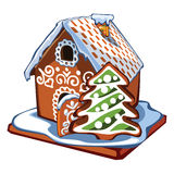 House. I present to you a Christmas icon - House Royalty Free Stock Photography