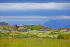 House in Iceland. Stock Images