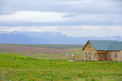 House in Iceland. Royalty Free Stock Image