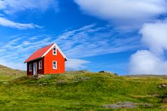 House in Iceland. Stock Photography
