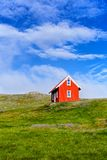 House in Iceland. Royalty Free Stock Photos