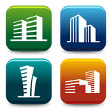House icon collection Royalty Free Stock Image