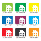 House icon collection Stock Photography