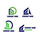House icon. Construction and Real state company logo Royalty Free Stock Photo