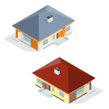 House icon. House . Residential House flat 3d vector isometric illustration. Royalty Free Stock Image