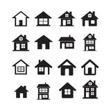 House Icon Real estate Set for website Royalty Free Stock Photography
