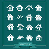 House Icon Real estate Set for website Stock Images