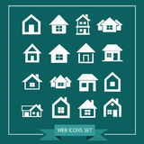 House Icon Real estate Set for website Stock Photos