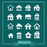 House Icon Real estate Set for website Stock Photography