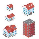 House icon set Stock Photography