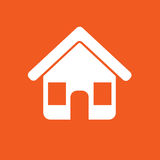 House Icon Simple Vector Illustration Royalty Free Stock Image