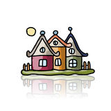 House icon, sketch for your design Stock Photo