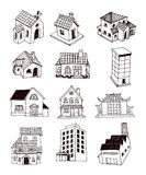 House icon, vector illustration. Royalty Free Stock Images