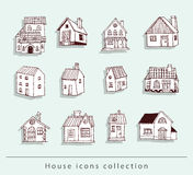 House icon. vector illustration. Stock Photography