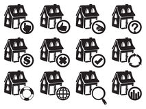 House Icon Vector Illustration Royalty Free Stock Photo