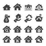 House icon Royalty Free Stock Photos