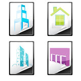 House Icons Royalty Free Stock Photos