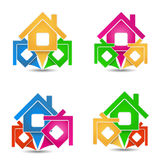 House Icons Stock Photo