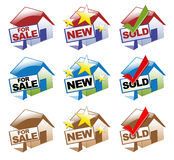House Icons Stock Images