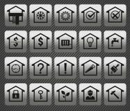House icons Stock Photos