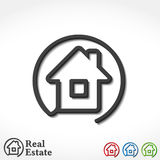 House Icons Stock Photography
