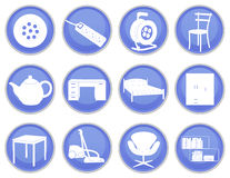 House icons set 2 Royalty Free Stock Images