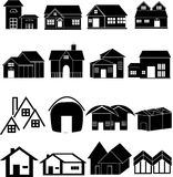 House Icons Set Stock Photography