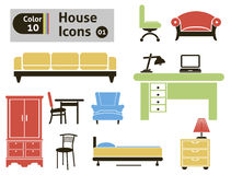 House icons Stock Photos