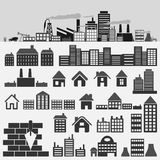 House icons4 Royalty Free Stock Image