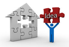 House Idea Royalty Free Stock Images