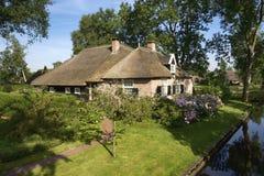 House in idyllic Giethoorn Stock Image
