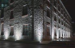 House with illumination Royalty Free Stock Images