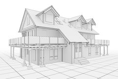House Illustration Royalty Free Stock Image