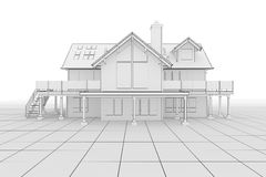 House Illustration Stock Photo