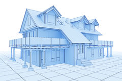 House Illustration Stock Photos