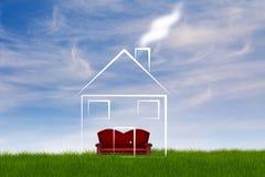 House illustration Royalty Free Stock Photo