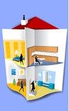 House Illustration Stock Photo