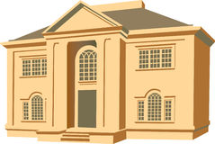 House illustration Royalty Free Stock Images
