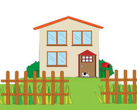House illustration Royalty Free Stock Photo