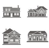 House  illustrations Stock Image