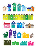 House illustrations Stock Photos