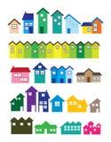 House illustrations Stock Photos