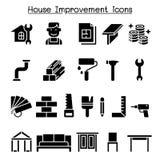 House improvement icon set royalty free illustration