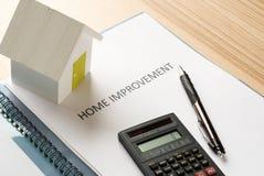 House improvement plan Stock Photos
