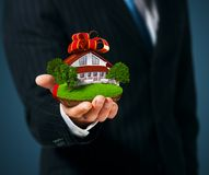 House In Hand Royalty Free Stock Images